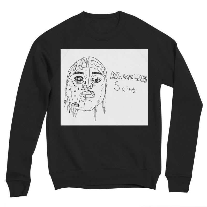 Good vs Evil Men's Sponge Fleece Sweatshirt by Nameless Saint