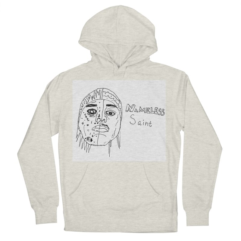 Good vs Evil Men's French Terry Pullover Hoody by Nameless Saint