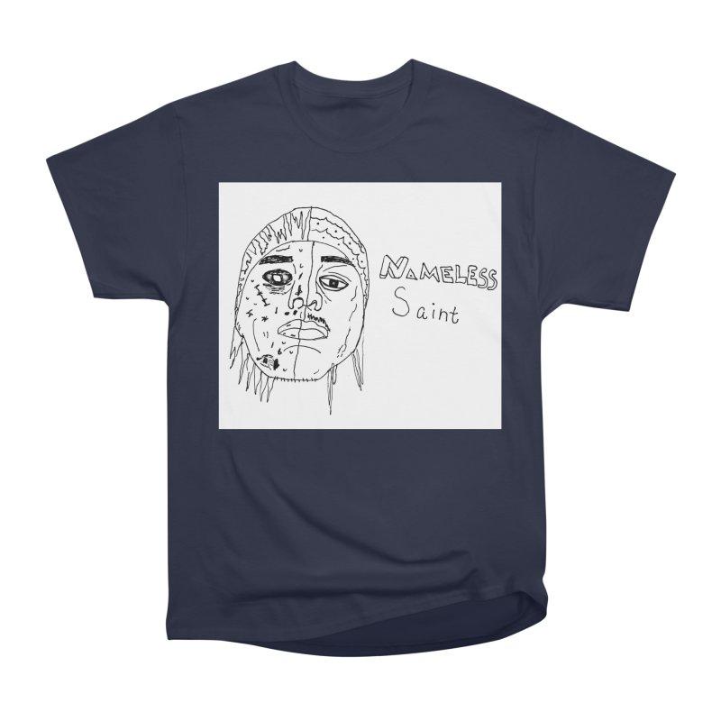 Good vs Evil Women's Heavyweight Unisex T-Shirt by Nameless Saint