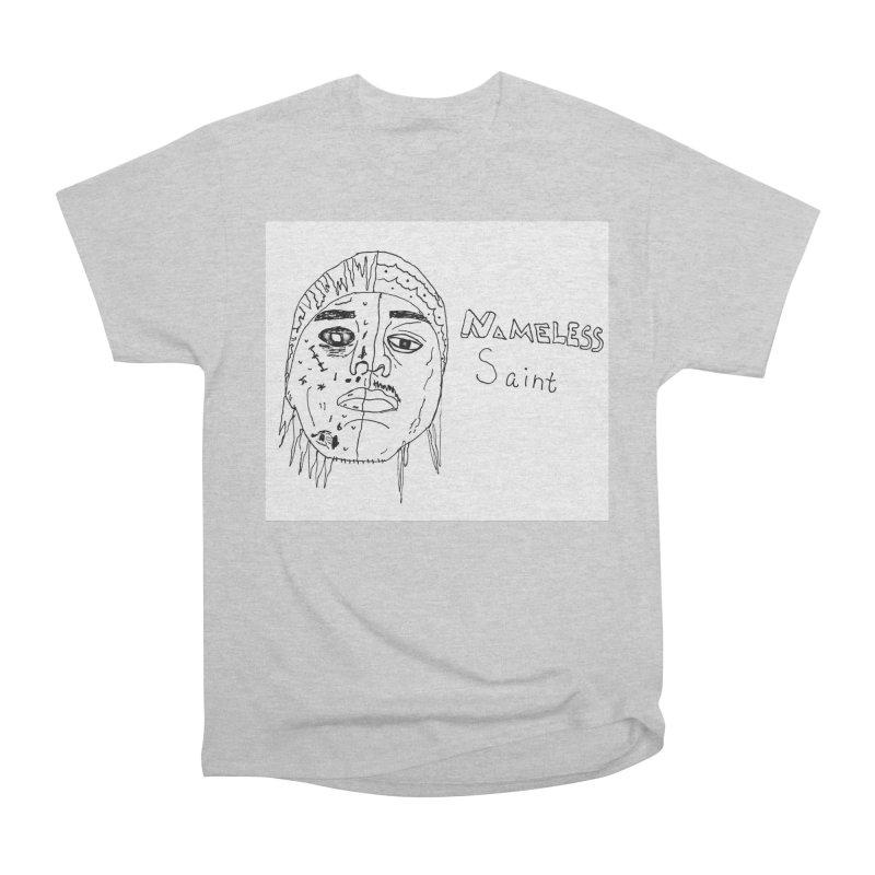 Good vs Evil Men's Heavyweight T-Shirt by Nameless Saint