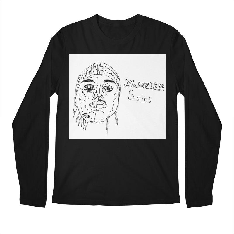Good vs Evil Men's Regular Longsleeve T-Shirt by Nameless Saint