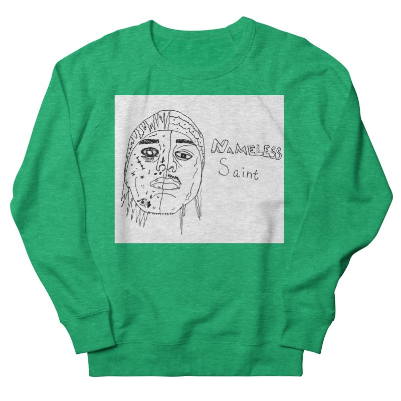 Good vs Evil Men's French Terry Sweatshirt by Nameless Saint
