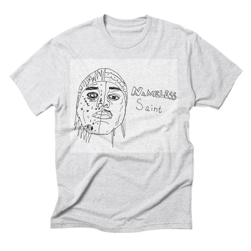Good vs Evil Men's Triblend T-Shirt by Nameless Saint