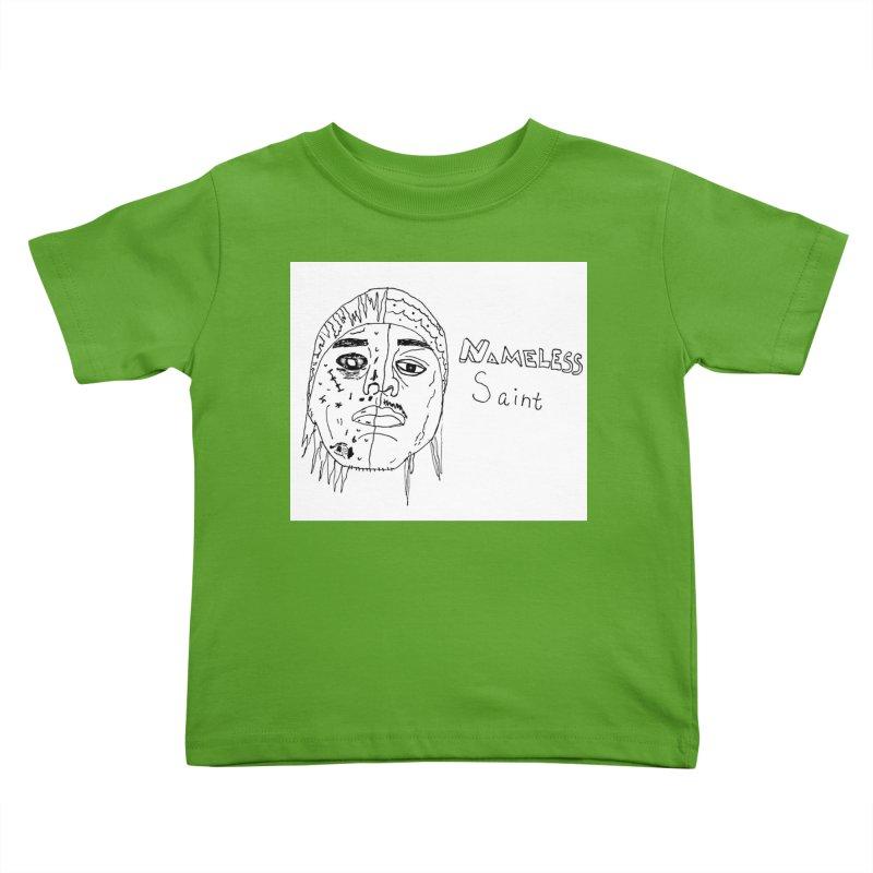 Good vs Evil Kids Toddler T-Shirt by Nameless Saint