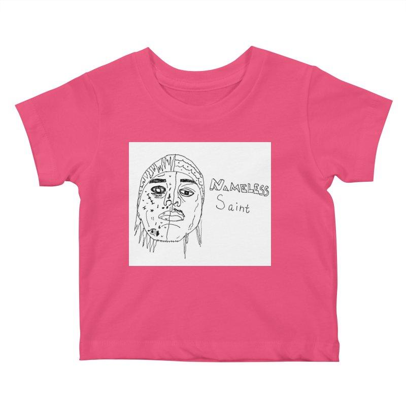 Good vs Evil Kids Baby T-Shirt by Nameless Saint