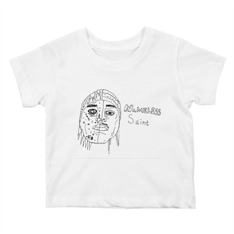 Good vs Evil Kids Baby T-Shirt by Nameless Saint