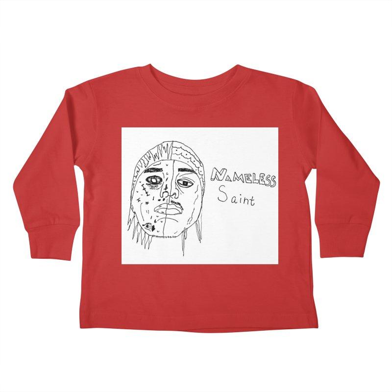 Good vs Evil Kids Toddler Longsleeve T-Shirt by Nameless Saint