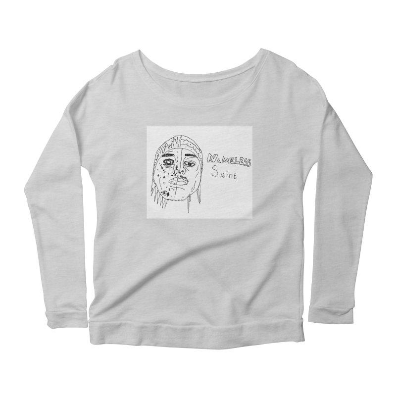 Good vs Evil Women's Scoop Neck Longsleeve T-Shirt by Nameless Saint