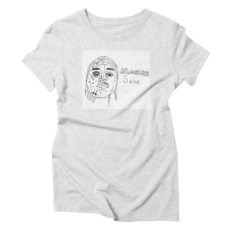 Good vs Evil Women's Triblend T-Shirt by Nameless Saint