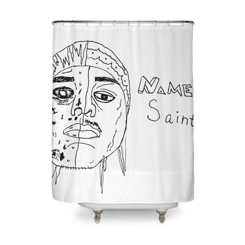 Good vs Evil Home Shower Curtain by Nameless Saint