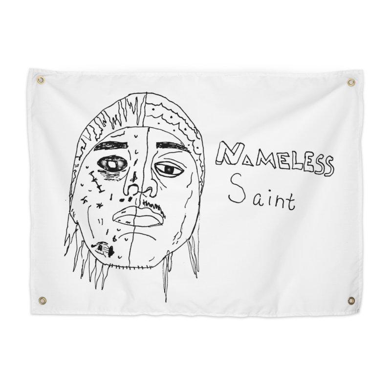 Good vs Evil Home Tapestry by Nameless Saint