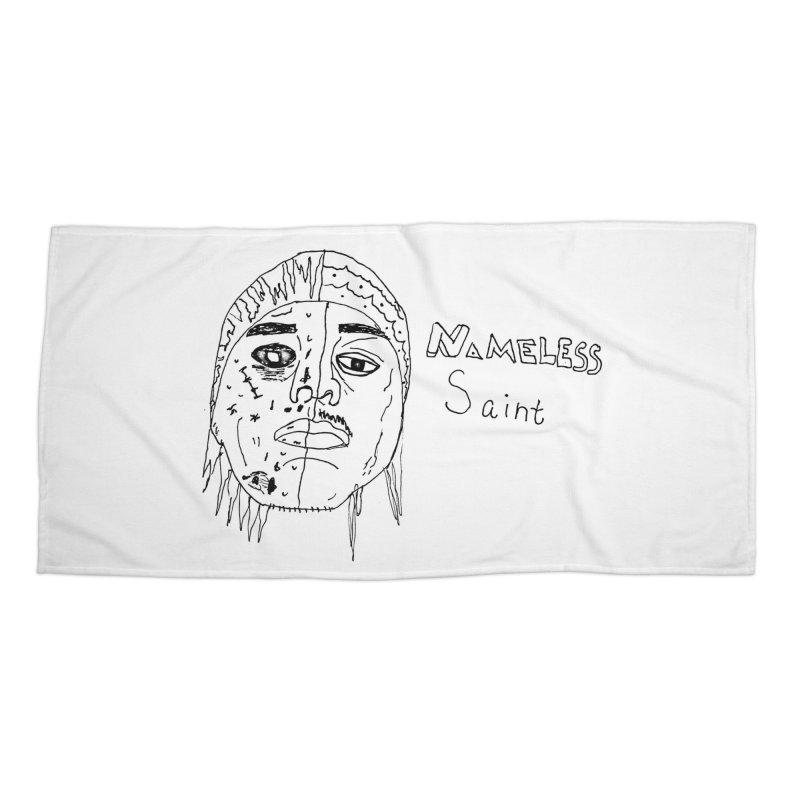 Good vs Evil Accessories Beach Towel by Nameless Saint