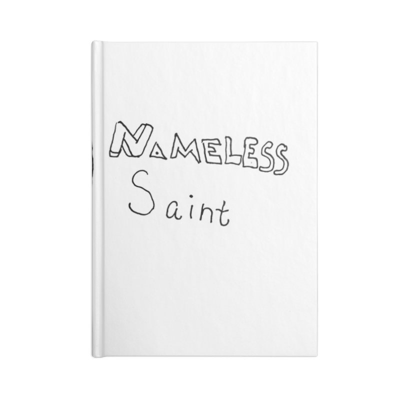 Good vs Evil Accessories Lined Journal Notebook by Nameless Saint