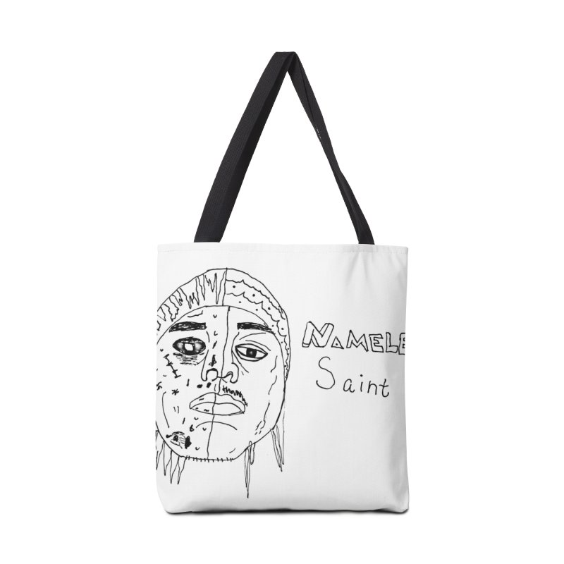 Good vs Evil Accessories Tote Bag Bag by Nameless Saint