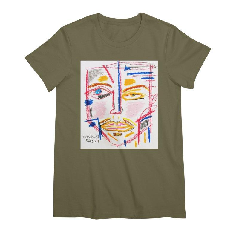 Nameless Pastel Women's Premium T-Shirt by Nameless Saint