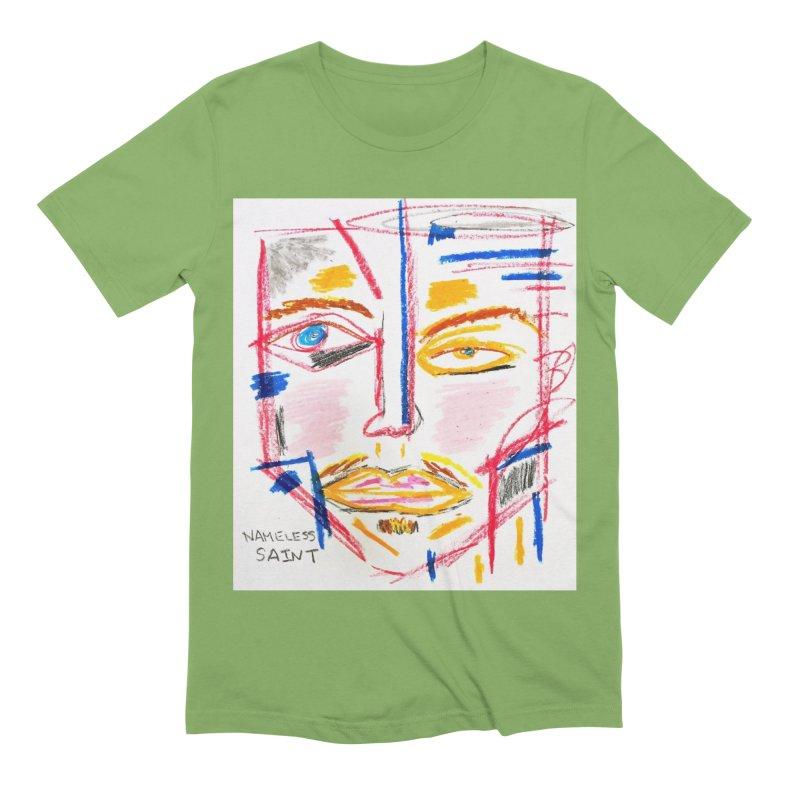 Nameless Pastel Men's Extra Soft T-Shirt by Nameless Saint