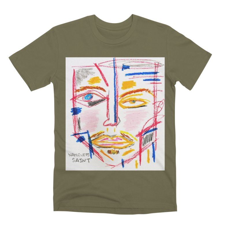 Nameless Pastel Men's Premium T-Shirt by Nameless Saint