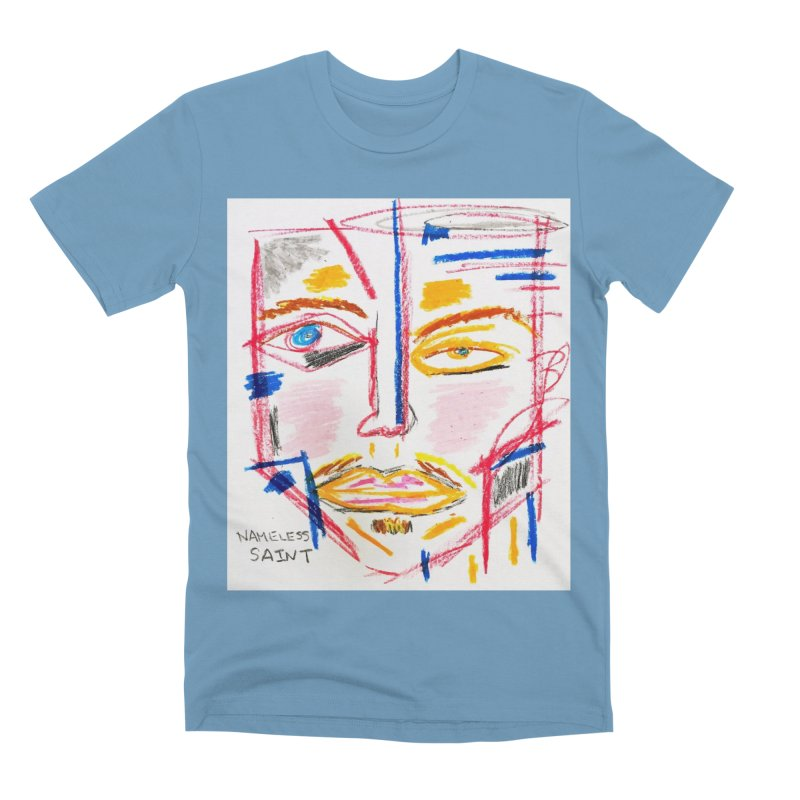 Nameless Pastel Men's Premium T-Shirt by Nameless Saint