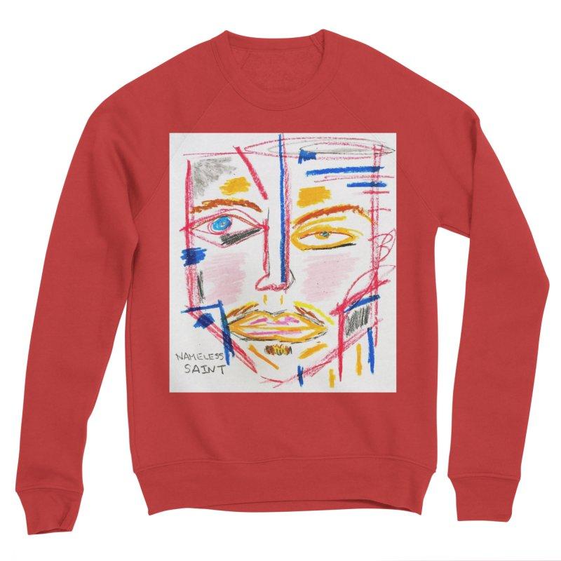 Nameless Pastel Men's Sponge Fleece Sweatshirt by Nameless Saint