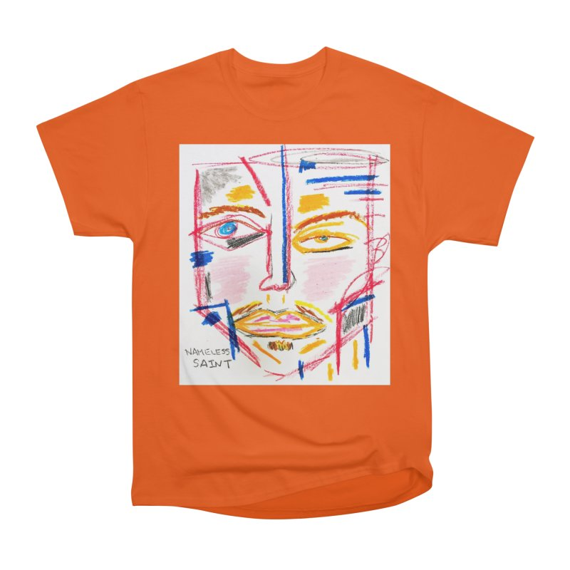Nameless Pastel Men's Heavyweight T-Shirt by Nameless Saint
