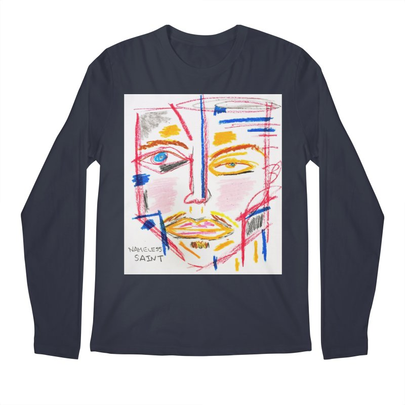 Nameless Pastel Men's Regular Longsleeve T-Shirt by Nameless Saint
