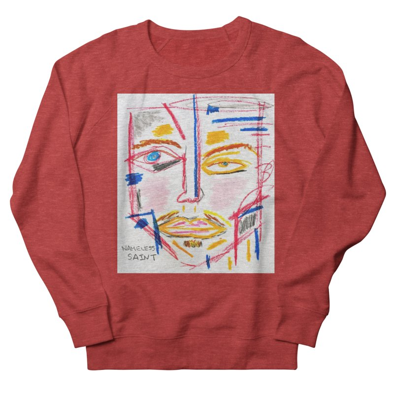 Nameless Pastel Men's French Terry Sweatshirt by Nameless Saint