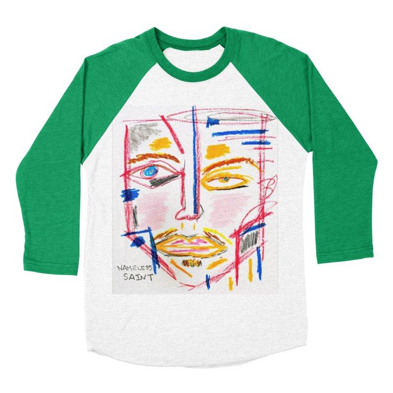 Nameless Pastel Women's Baseball Triblend Longsleeve T-Shirt by Nameless Saint
