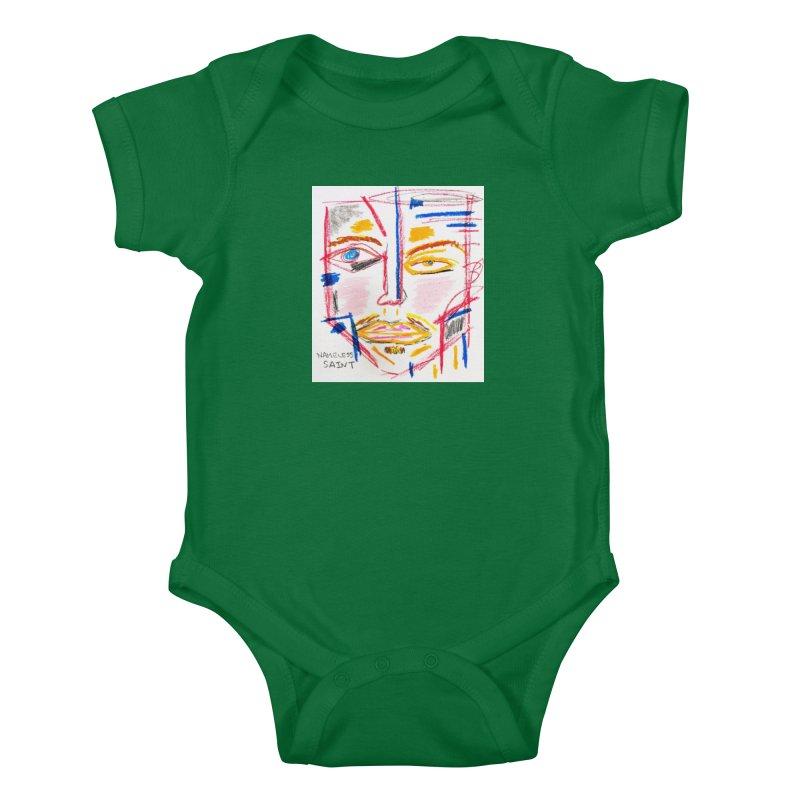 Nameless Pastel Kids Baby Bodysuit by Nameless Saint