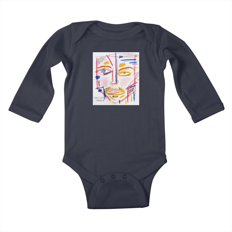 Nameless Pastel Kids Baby Longsleeve Bodysuit by Nameless Saint