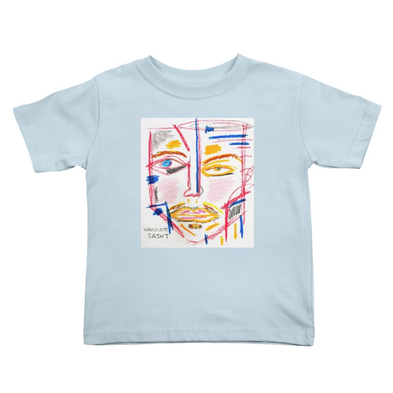 Nameless Pastel Kids Toddler T-Shirt by Nameless Saint