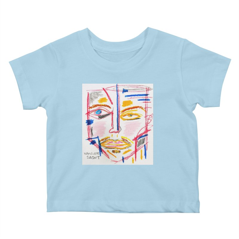 Nameless Pastel Kids Baby T-Shirt by Nameless Saint