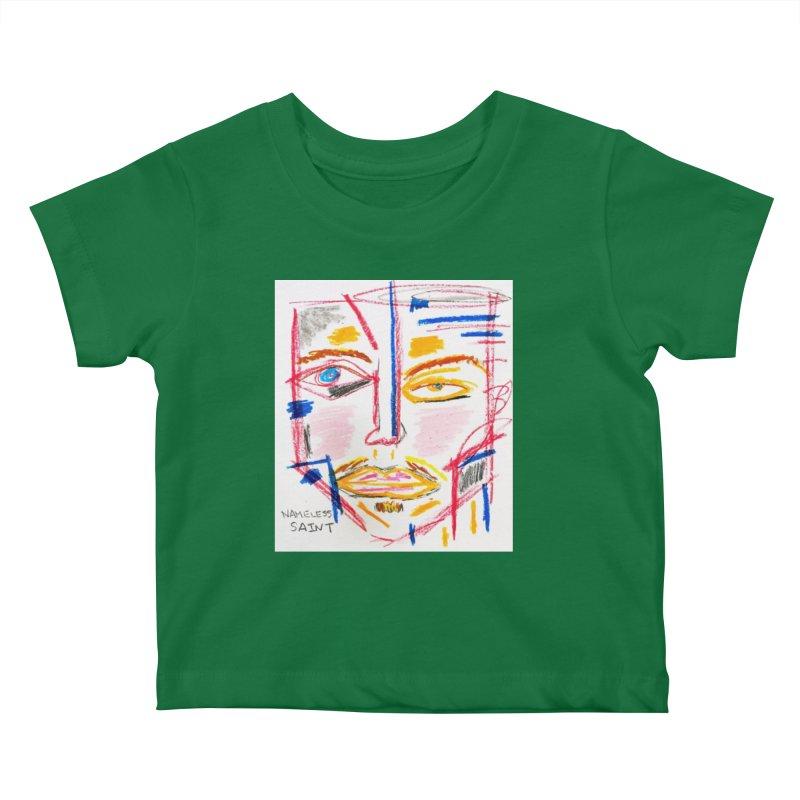 Nameless Pastel Kids Baby T-Shirt by Nameless Saint