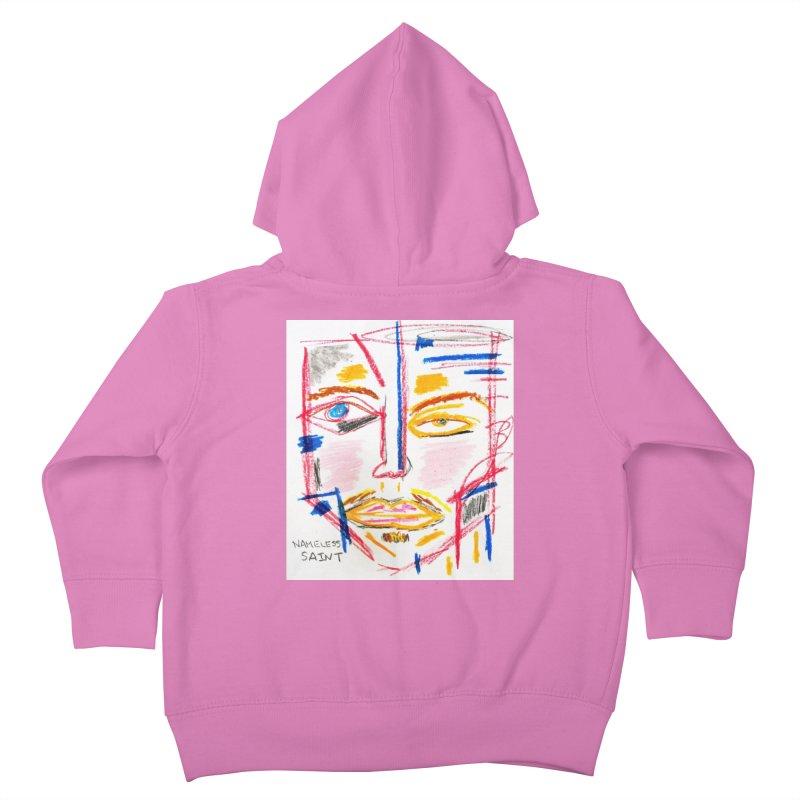 Nameless Pastel Kids Toddler Zip-Up Hoody by Nameless Saint
