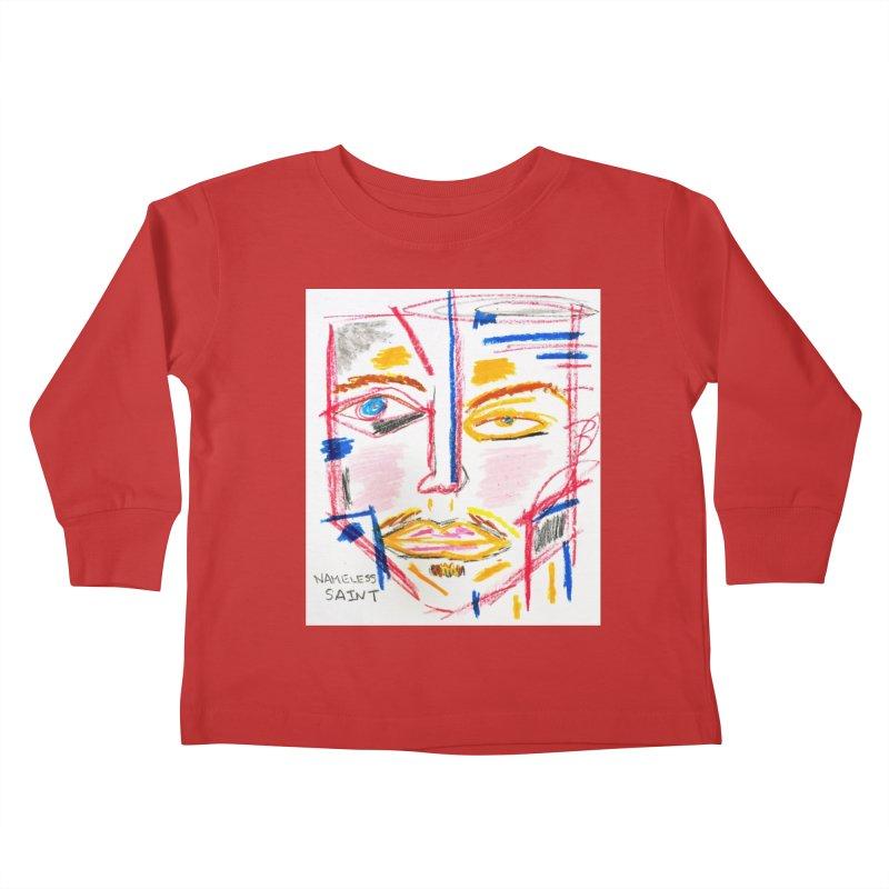 Nameless Pastel Kids Toddler Longsleeve T-Shirt by Nameless Saint