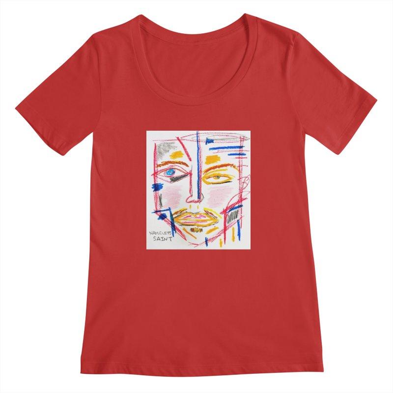 Nameless Pastel Women's Regular Scoop Neck by Nameless Saint