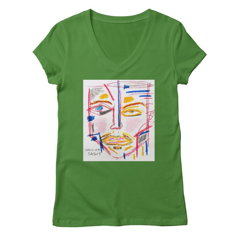 Nameless Pastel Women's Regular V-Neck by Nameless Saint