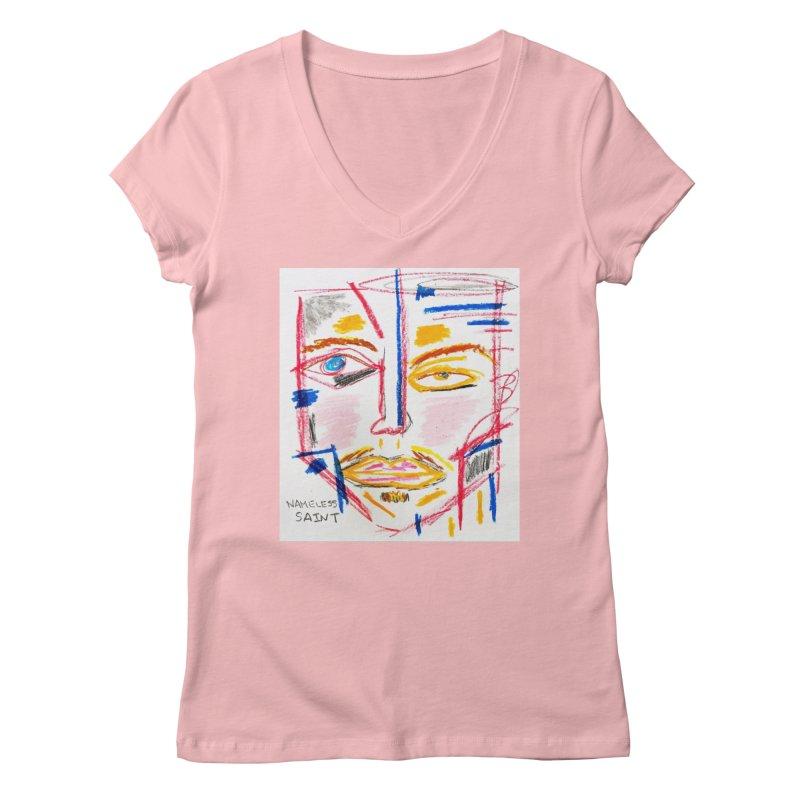 Nameless Pastel Women's Regular V-Neck by Nameless Saint