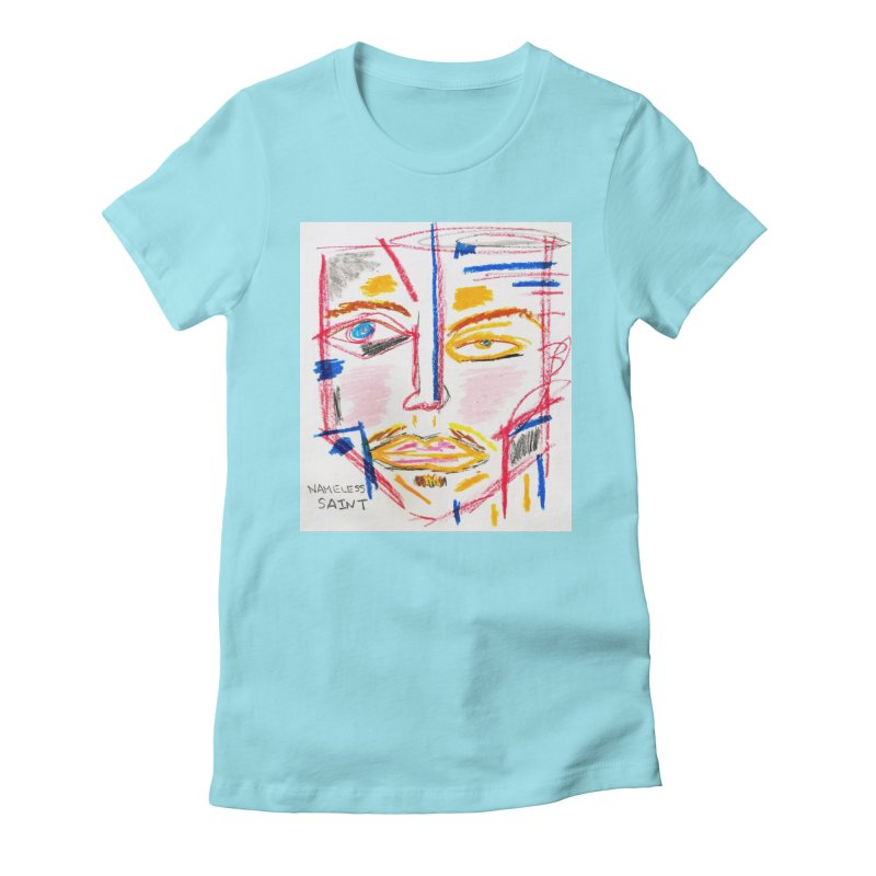 Nameless Pastel Women's Fitted T-Shirt by Nameless Saint