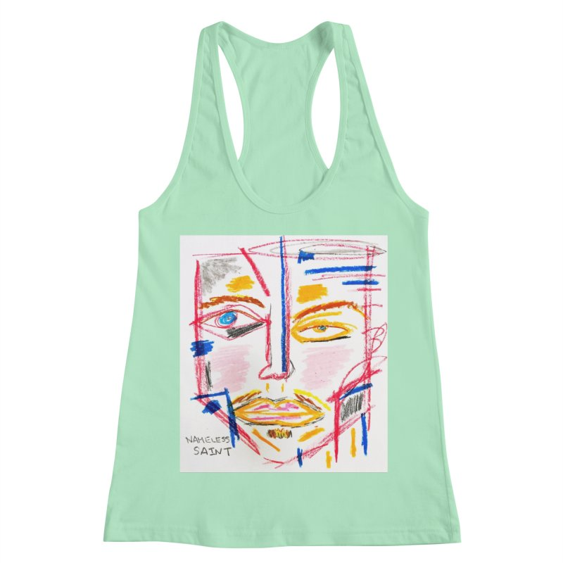Nameless Pastel Women's Racerback Tank by Nameless Saint