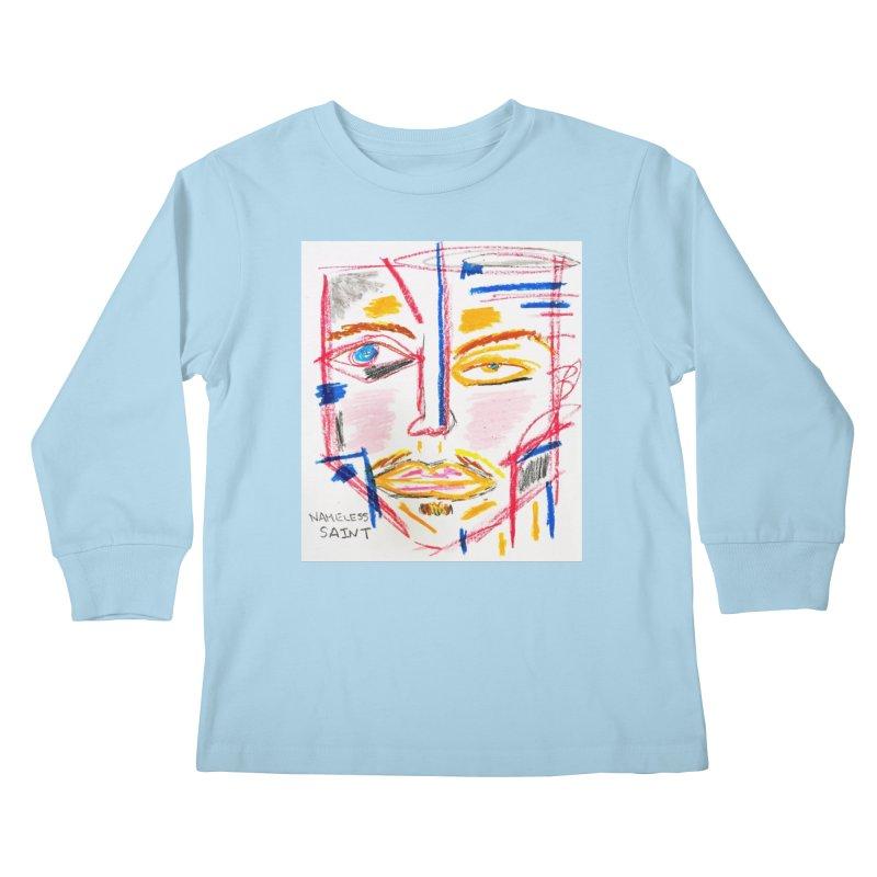Nameless Pastel Kids Longsleeve T-Shirt by Nameless Saint