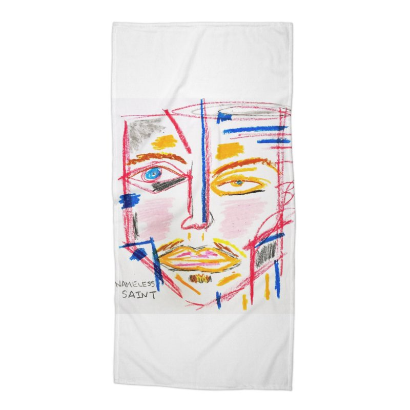 Nameless Pastel Accessories Beach Towel by Nameless Saint