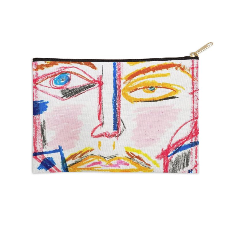 Nameless Pastel Accessories Zip Pouch by Nameless Saint