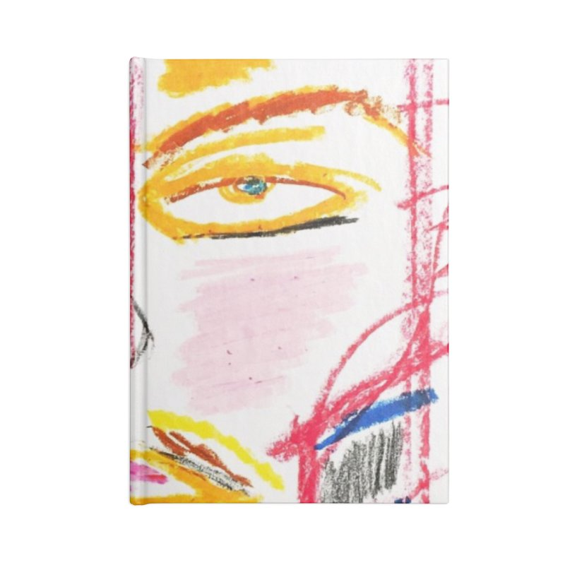 Nameless Pastel Accessories Lined Journal Notebook by Nameless Saint