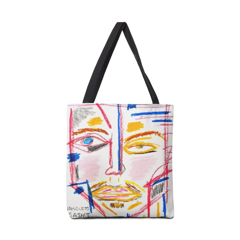 Nameless Pastel Accessories Tote Bag Bag by Nameless Saint