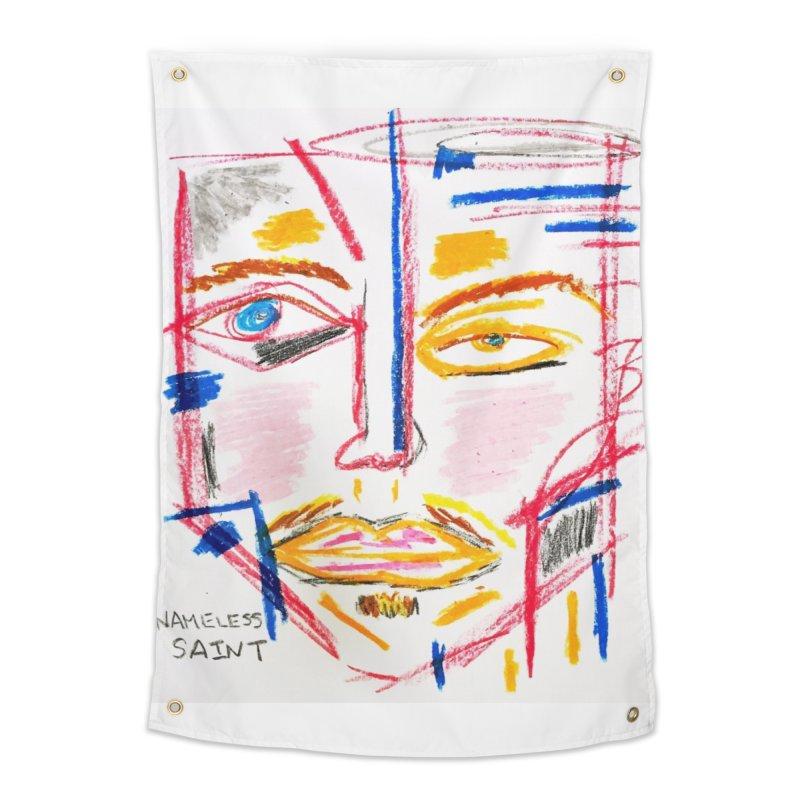 Nameless Pastel Home Tapestry by Nameless Saint
