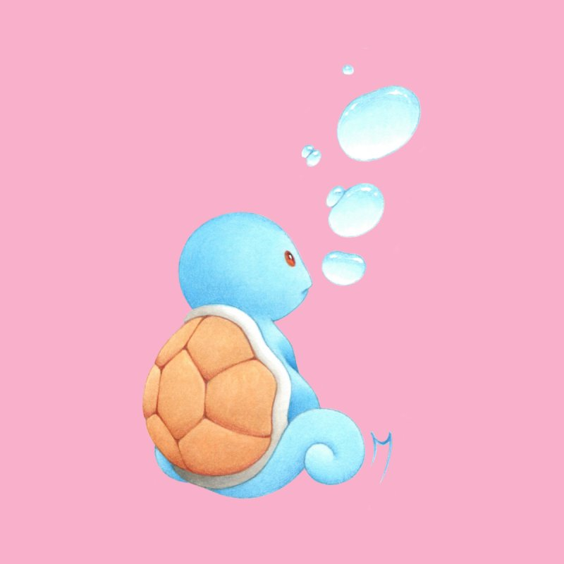 Kawaii Bubble Turtle Accessories Sticker by Nana Marchae Art Shop
