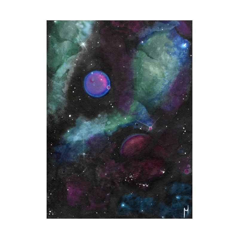 Hidden Planet Home Tapestry by Nana Marchae Art Shop