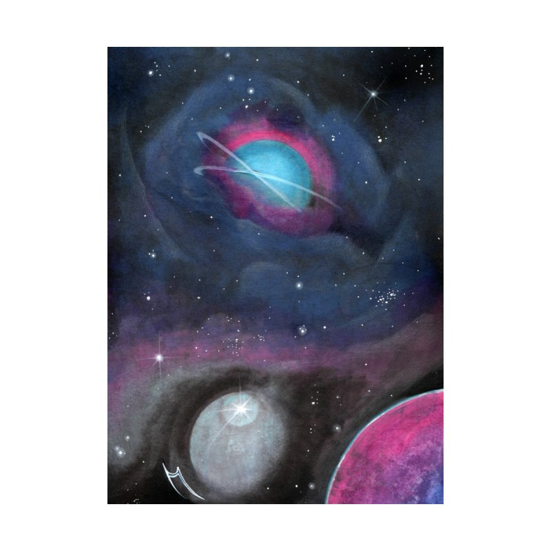 Galactic Vortex Home Tapestry by Nana Marchae Art Shop