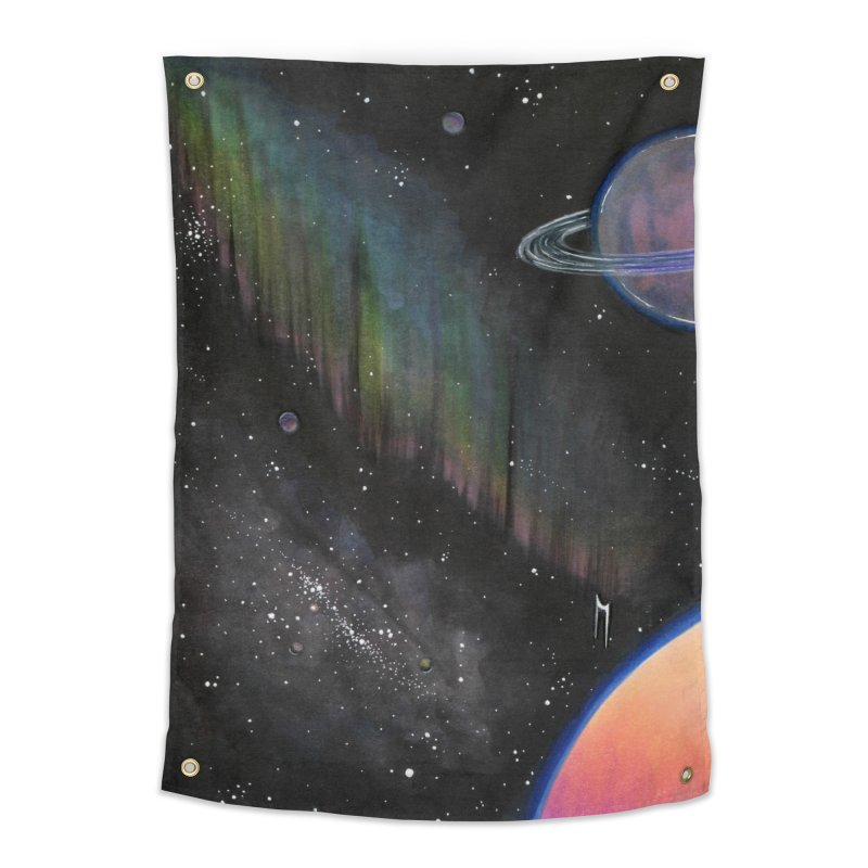 Rainbow Space Home Tapestry by Nana Marchae Art Shop
