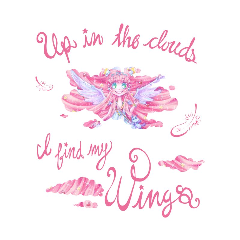 Up in the Clouds I Find my Wings by NasikaSakura's Artist Shop